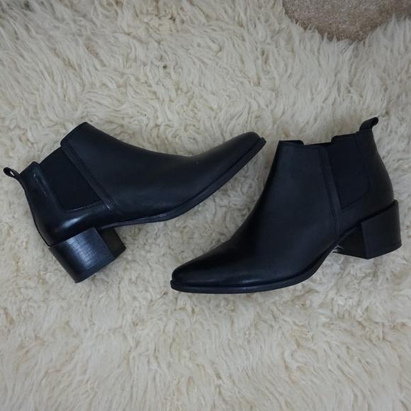 9fae1194464 Vagabond Marja black ankle leather boots